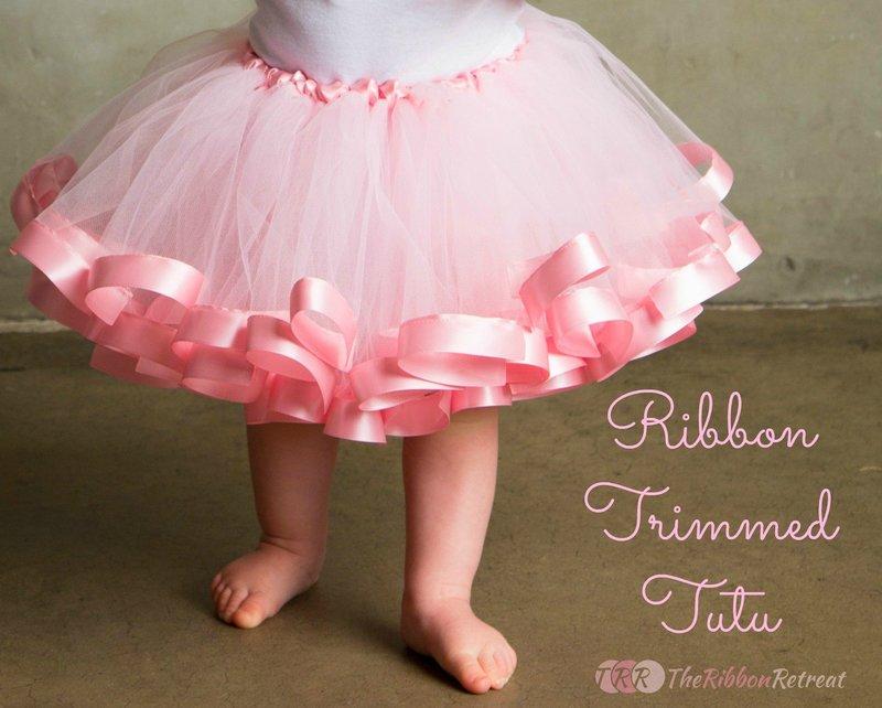Пышная юбка из фатина для девочки 1 год