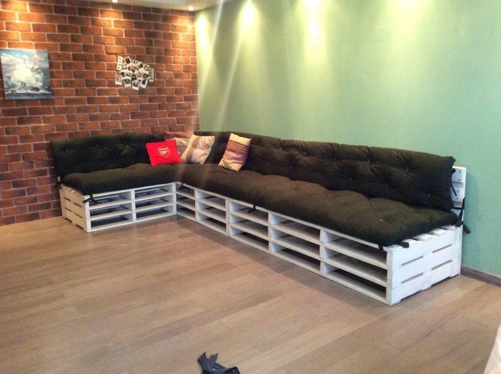 Матрасы своими руками для дивана из поддонов