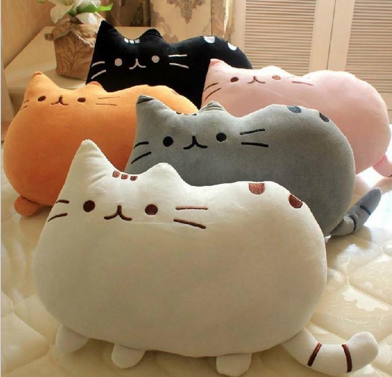 Кот из подушки своими руками