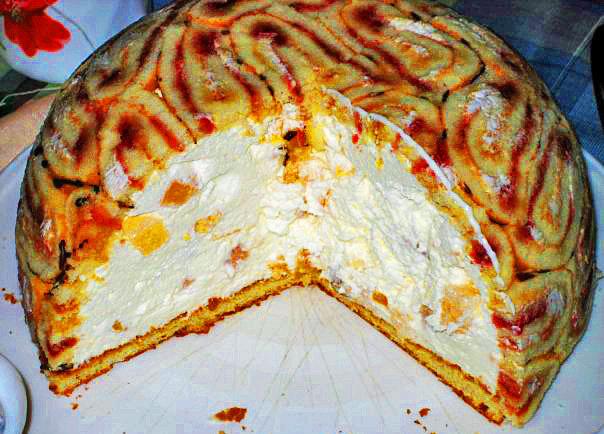 Торт без выпекания пошаговый рецепт