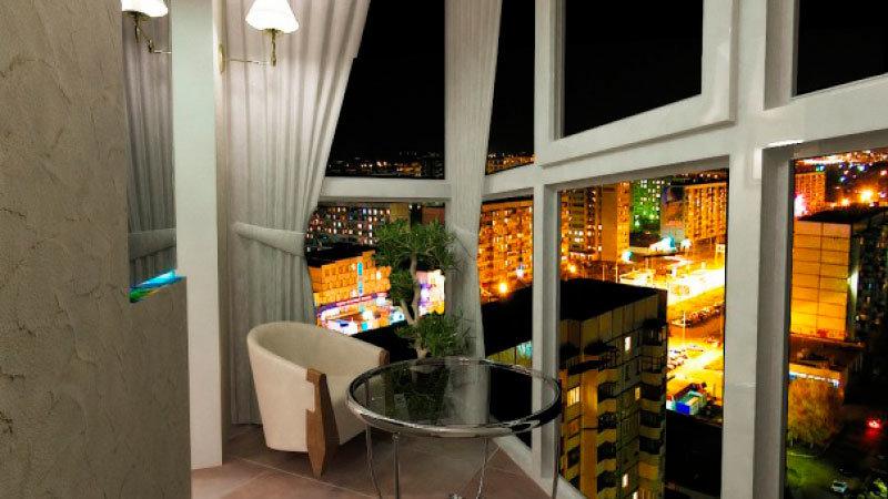 Балконы с панорамными окнами дизайн