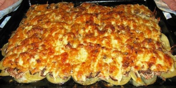 Блюда из фарша в духовке рецепт с пошагово в
