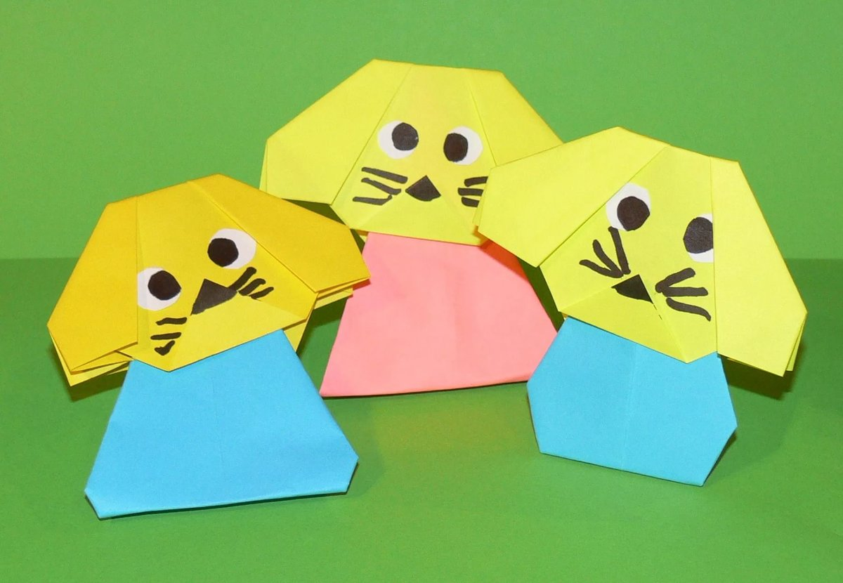 «Поделки из бумаги для детей 4-5 лет» коллекция пользователя 44