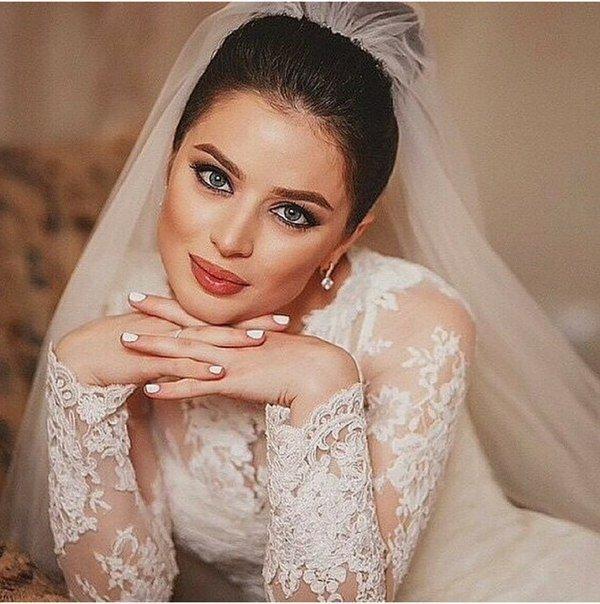 Прически для невесты дагестан