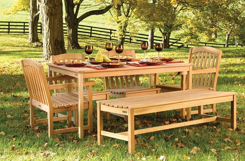 Деревянные столы и стулья для дачи из сосны своими руками фото 83