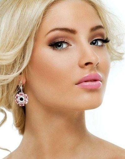 Красивые макияжи для блондинок