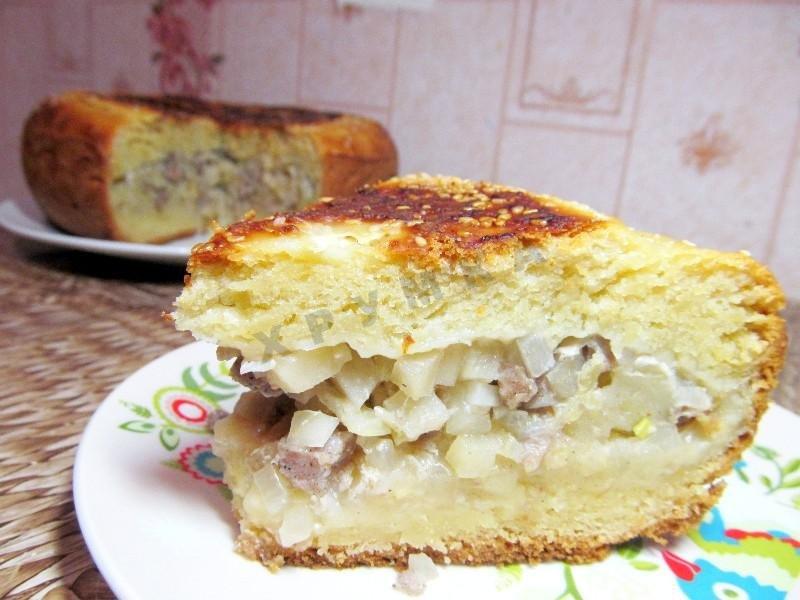 Пирог в картошкой в мультиварке рецепты с фото