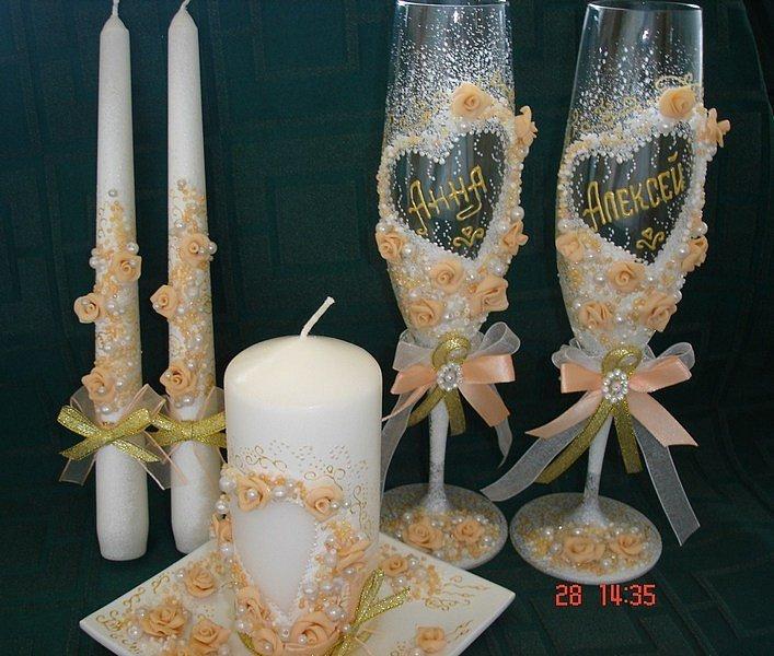 Свеча на свадьбу своими руками фото пошагово