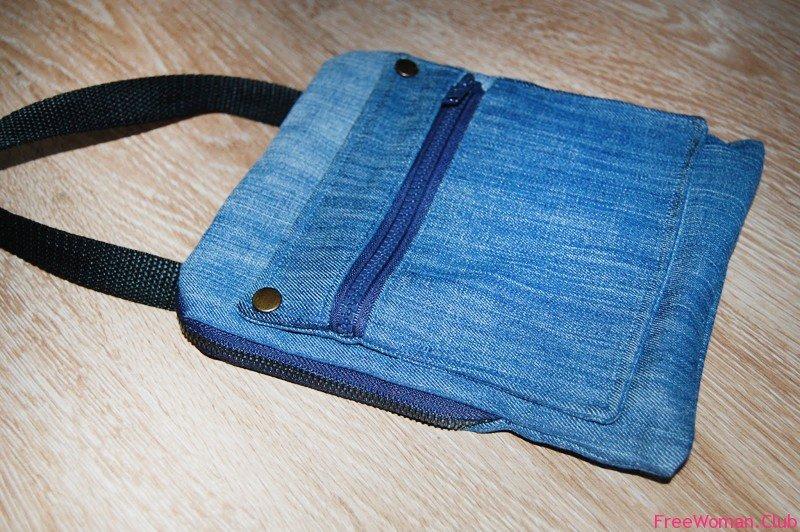 Как сшить самой маленькую сумочку через плечо 286