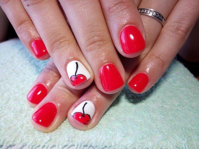Простые дизайн для ногтей