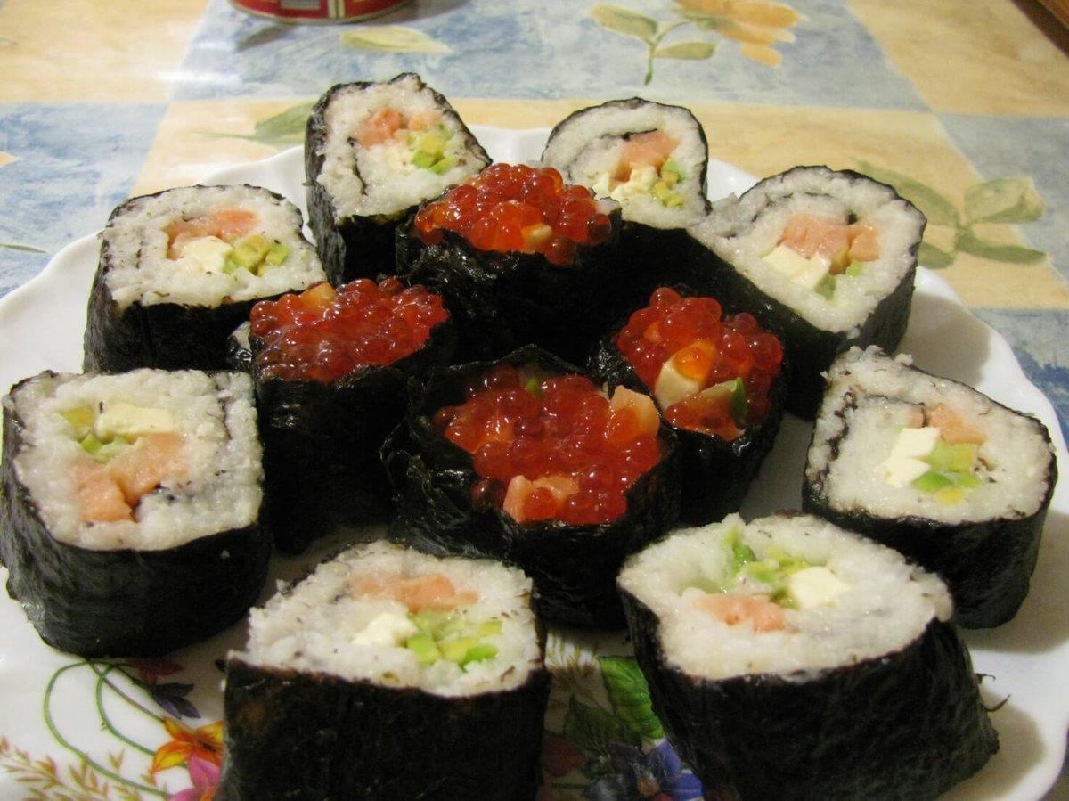 Как запекать суши в домашних условиях 998