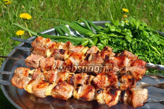 Шашлык из свинины на пиве рецепт пошагово