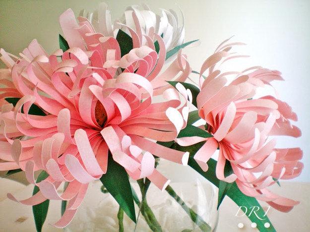 Цветок из бумаги своими руками мастер класс фото
