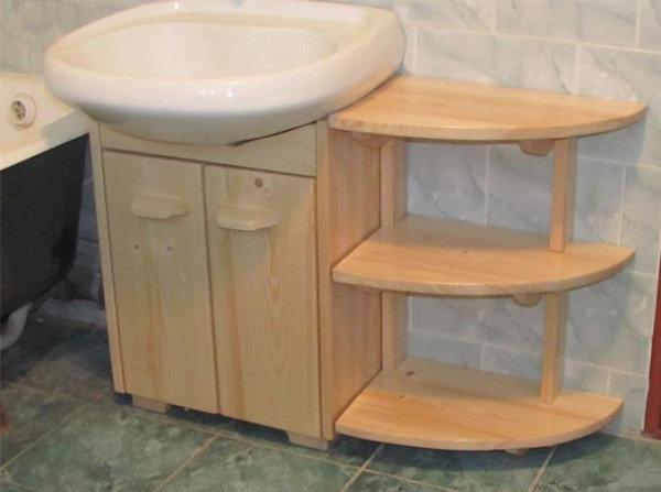 Сделать тумбу для ванны своими руками 13
