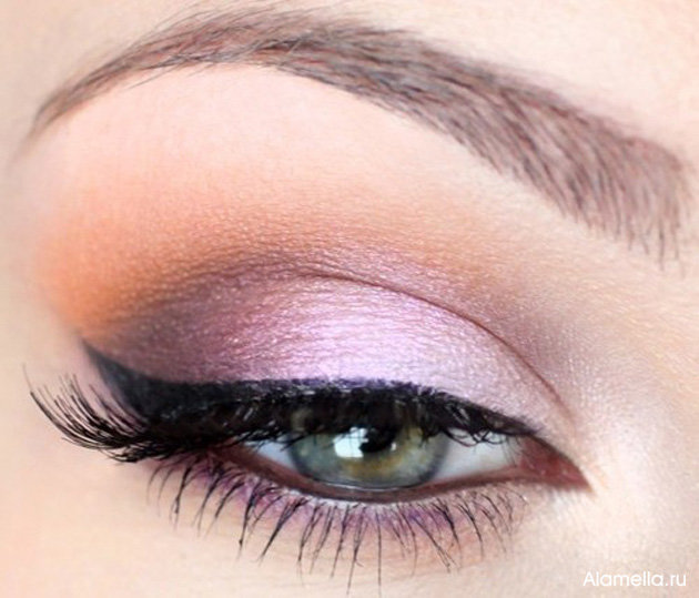 Фото красивого макияжа на глазах