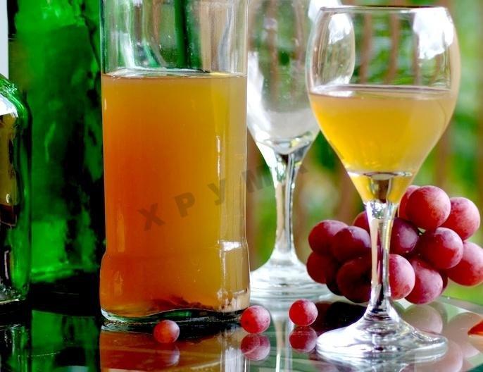 Приготовление белое вино из винограда в домашних условиях