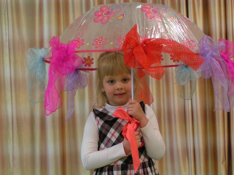 Детские зонтики своими руками 450