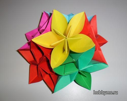 Кусудама оригами картинки