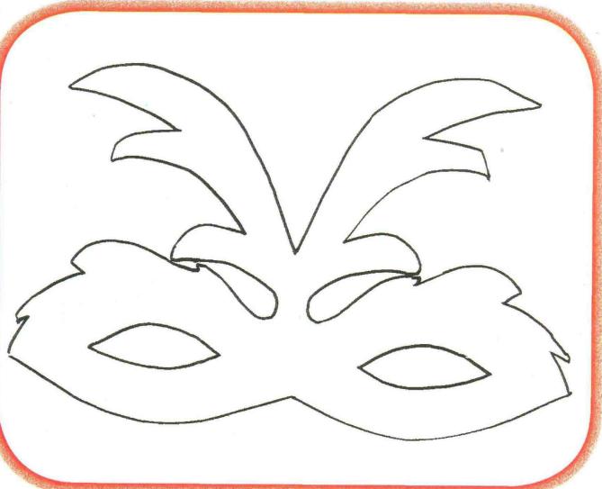 Для детей маска карнавальная своими руками