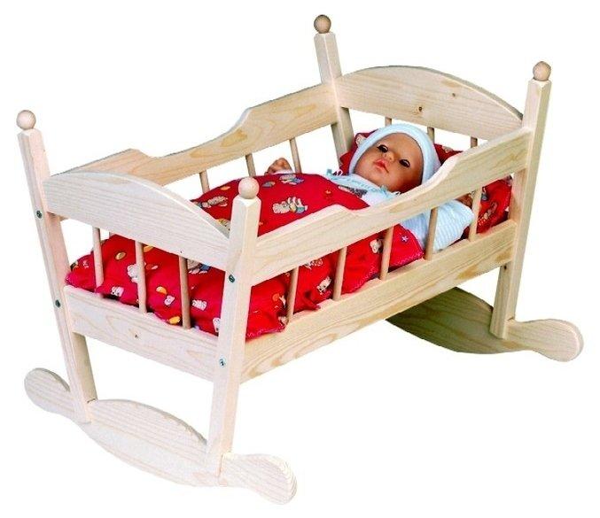 Кровать для пупсов своими руками 21