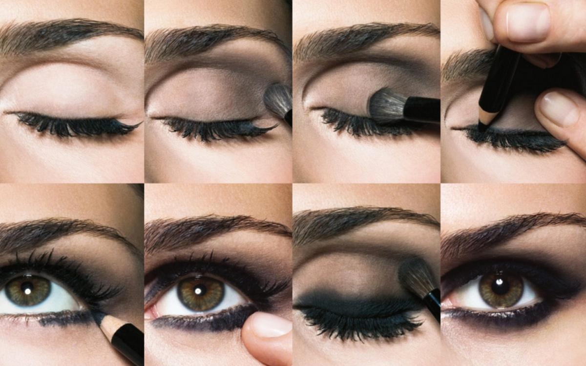 Как правильно наносить тени на веки пошагово фото для зеленых глаз