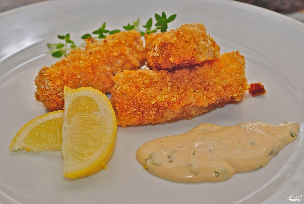 Рыба жареная филе рецепт пошагово в