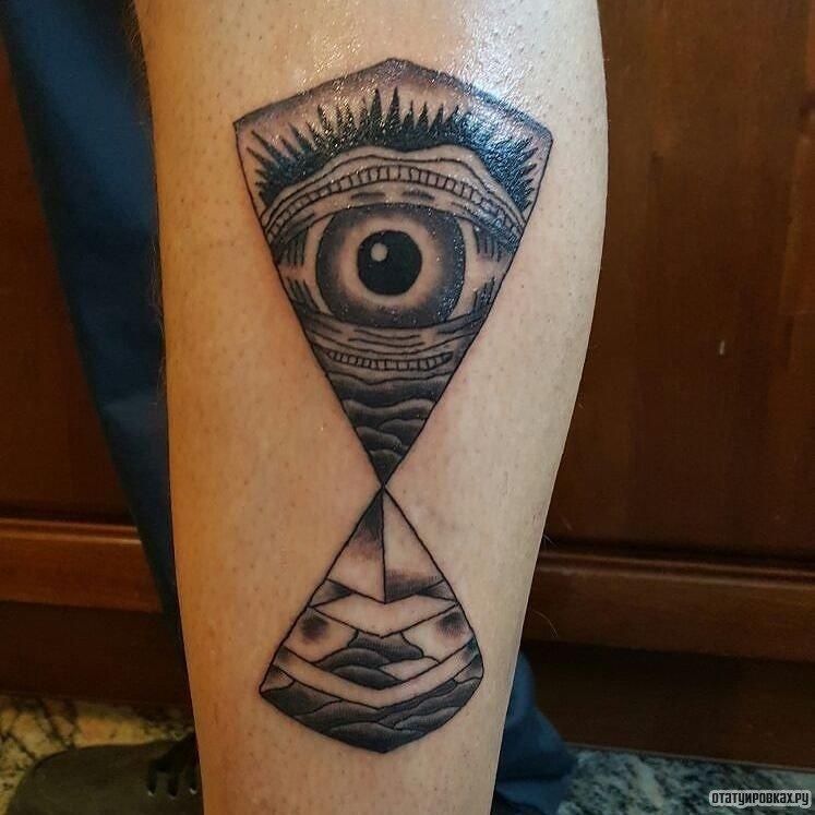 Фото тату пирамид