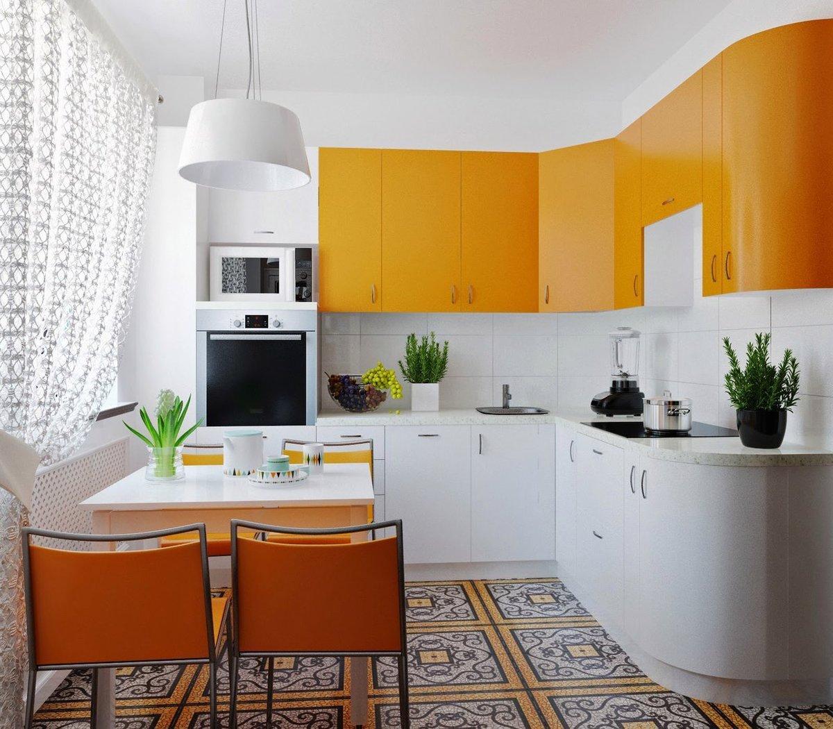 Как сделать кухню в квартире уютной и красивой фото