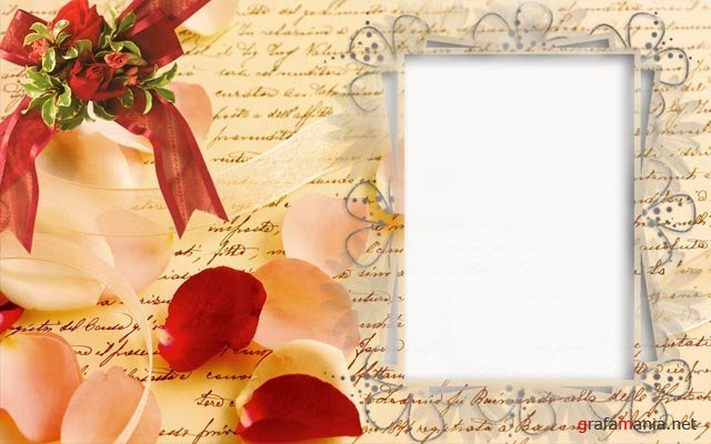 Шаблон открытки в photoshop
