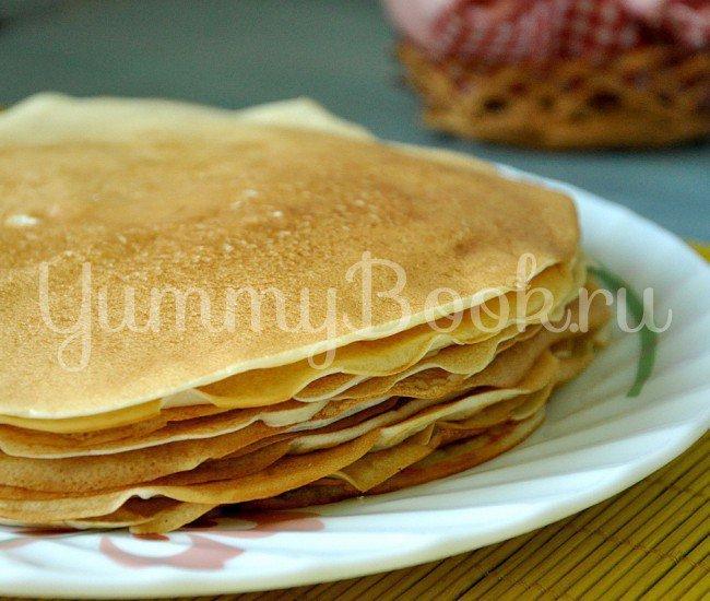 Вкусные блинчики пошаговый рецепт с фото