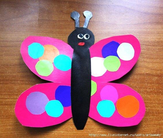 Поделки для детей своими руками из цветной бумаги