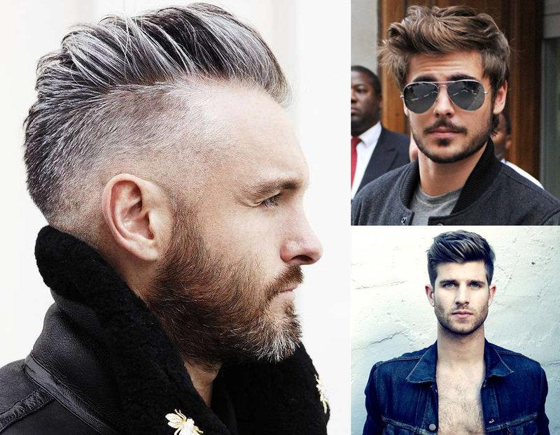 Причёски с залысиной
