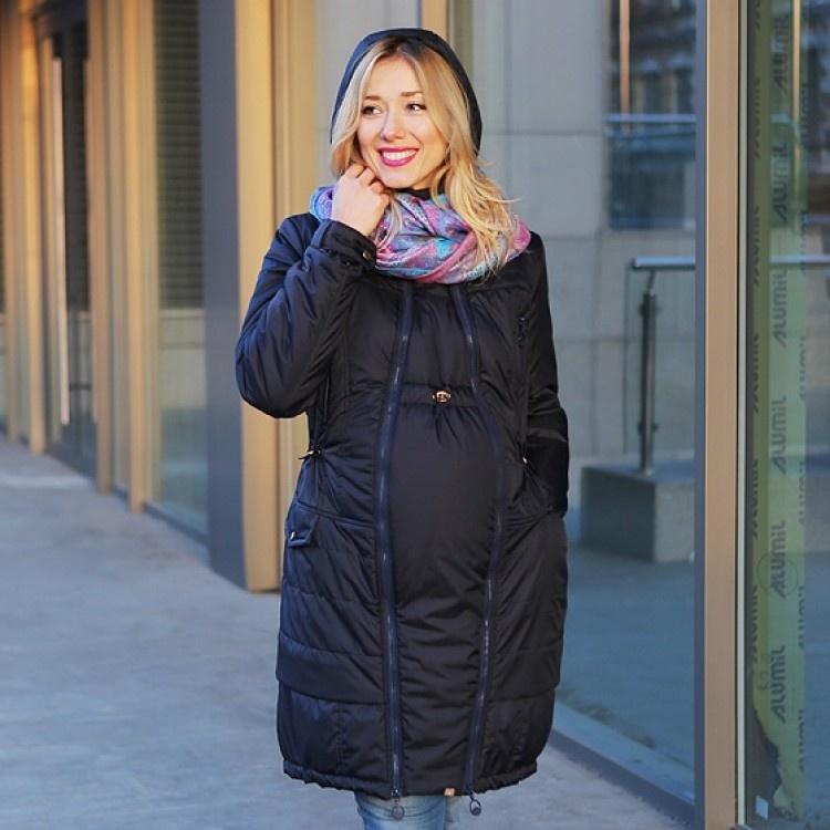 Как сделать вставку на куртку для беременных 40