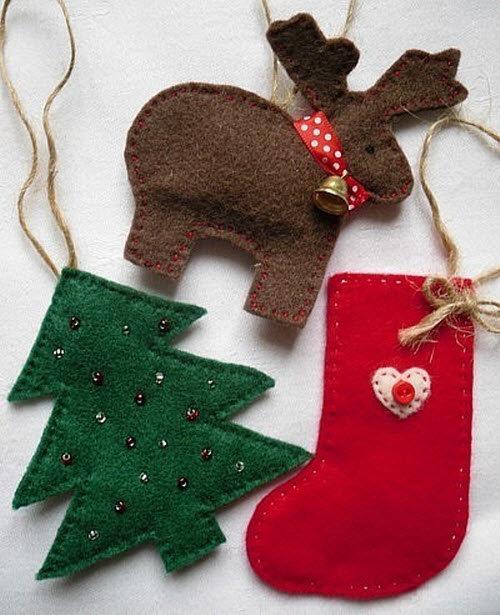 Новогодние игрушки из флиса своими руками
