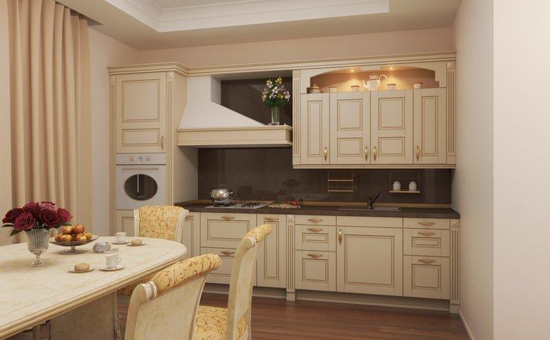 Дизайн для классической кухни 18
