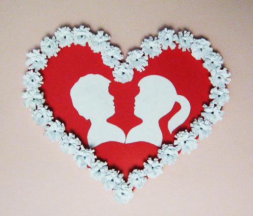 Сердце на 14 февраля своими руками