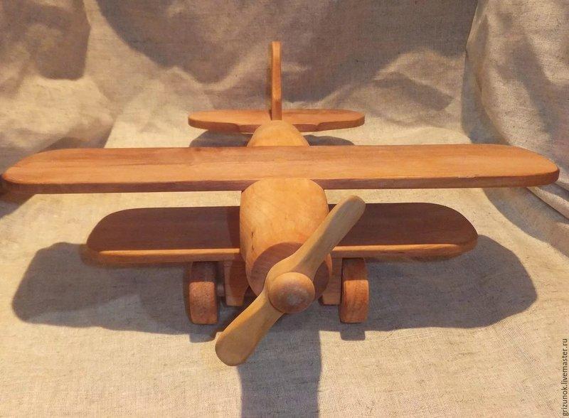 Как сделать из самолёт из дерева