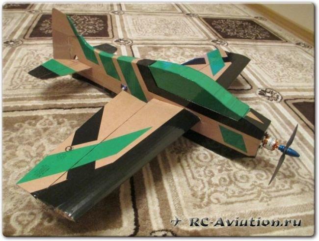 Как сделать макет самолета своими руками 90