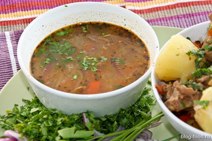 Шурпа рецепт из баранины пошаговый рецепт