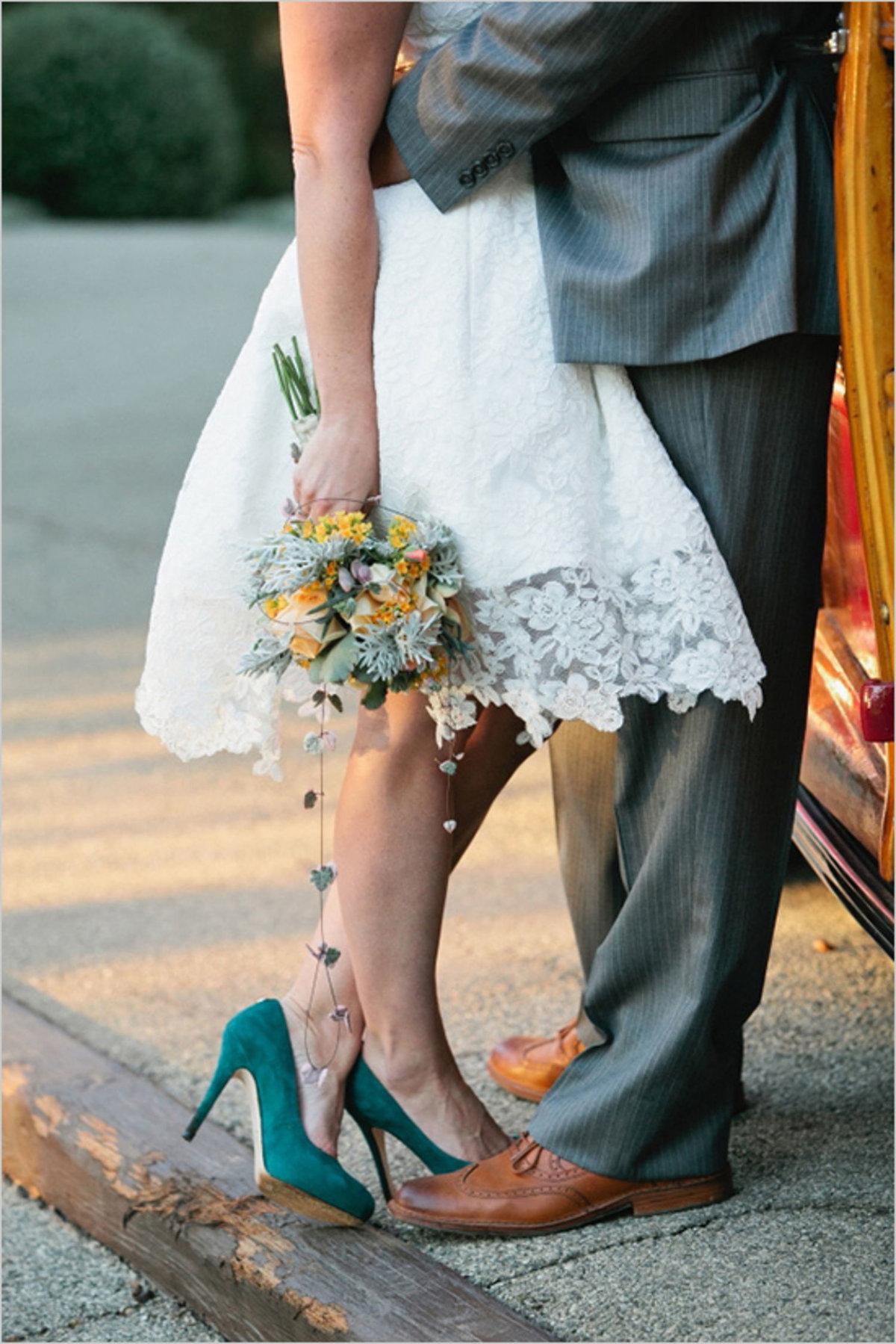 Туфли к белому свадебному платью