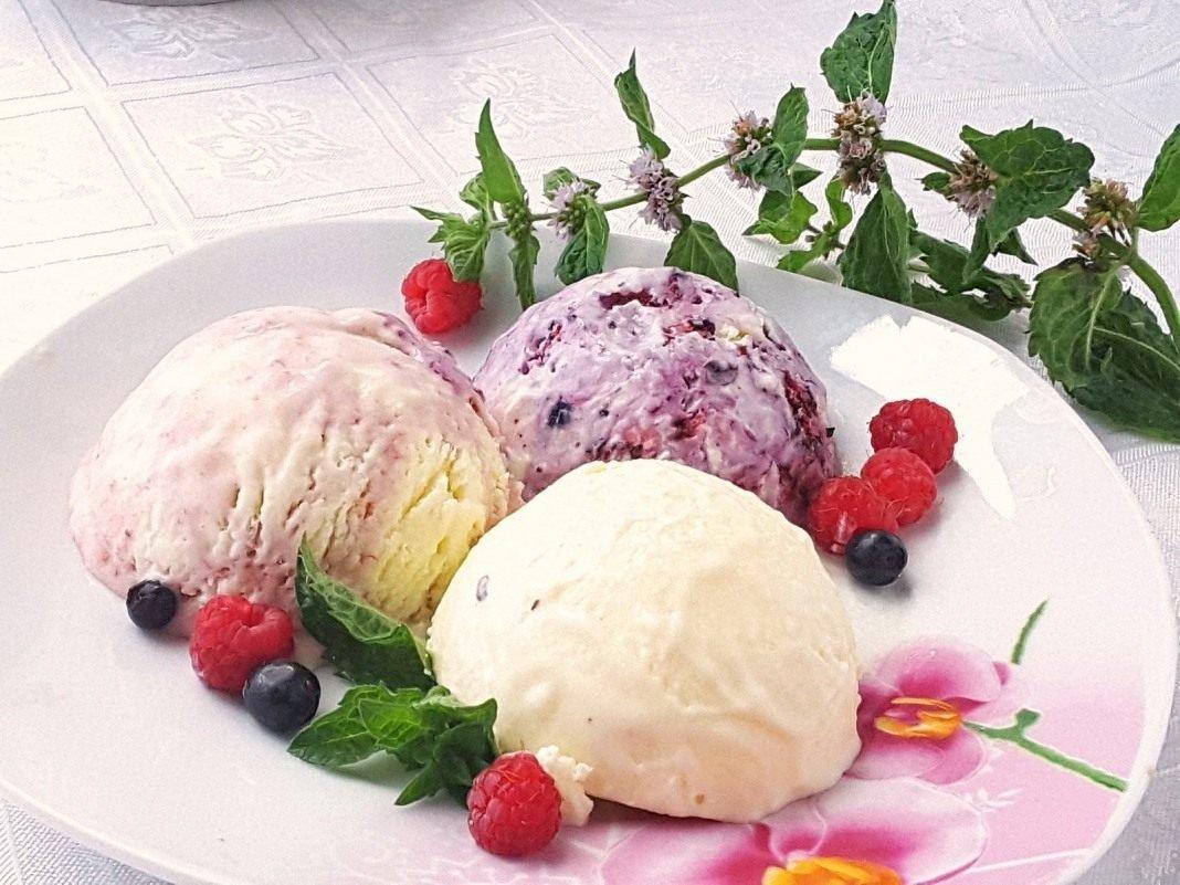Мороженое с ягодами в домашних условиях рецепт 306