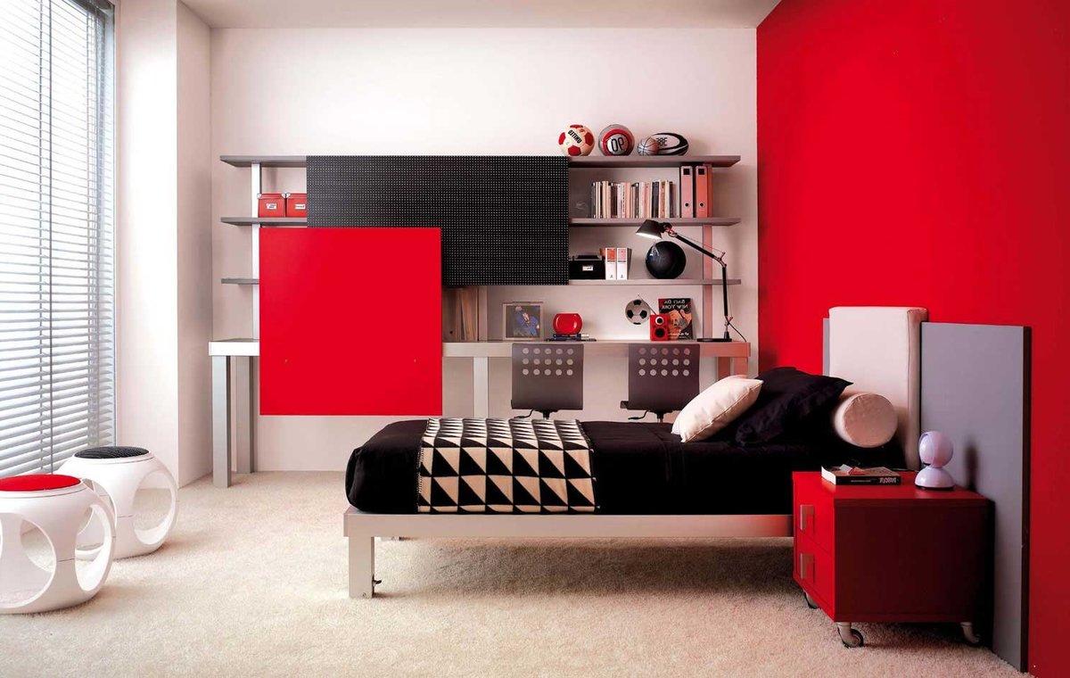 Дизайн молодежной комнаты для юноши фото