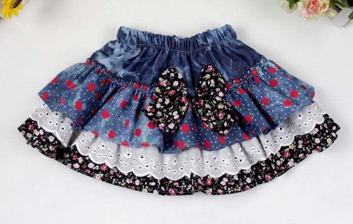 Детскую юбку сшить своими руками