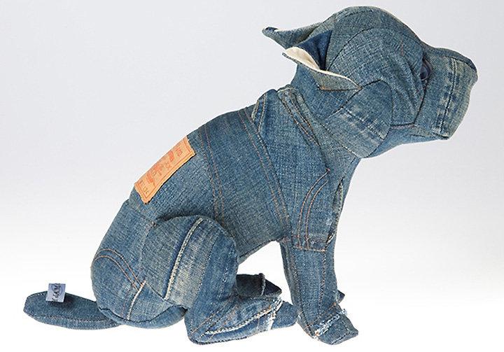 Игрушки из старых джинсов