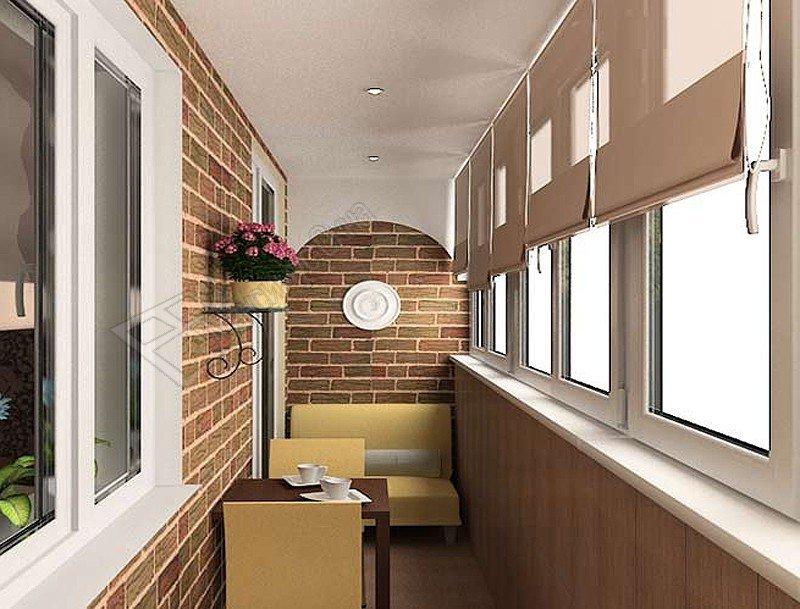 Дизайн балкона в хрущёвке фото 2016 современные идеи