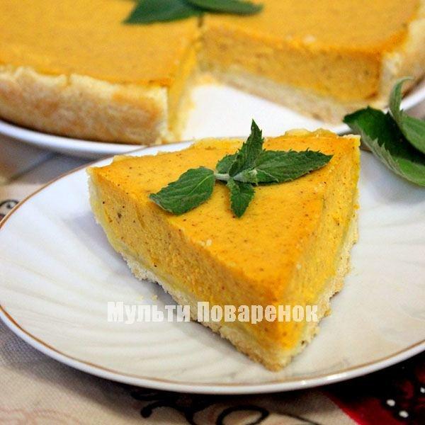 Пирог из тыквы в мультиварке редмонд рецепты с фото