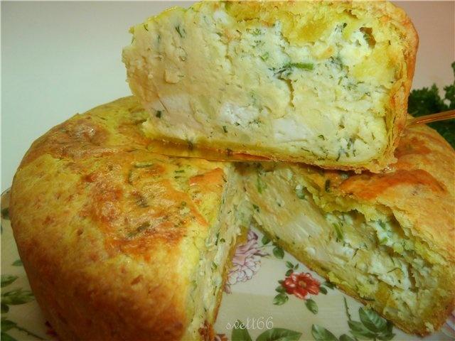 Пирог с мясом и картошкой рецепт с пошагово в духовке