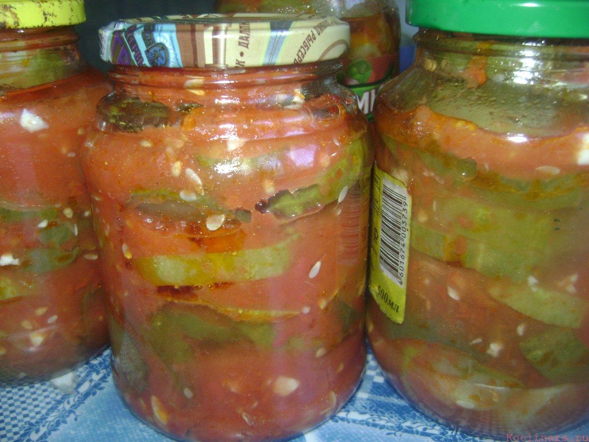 Как сделать огурцы в томатном соусе на  845