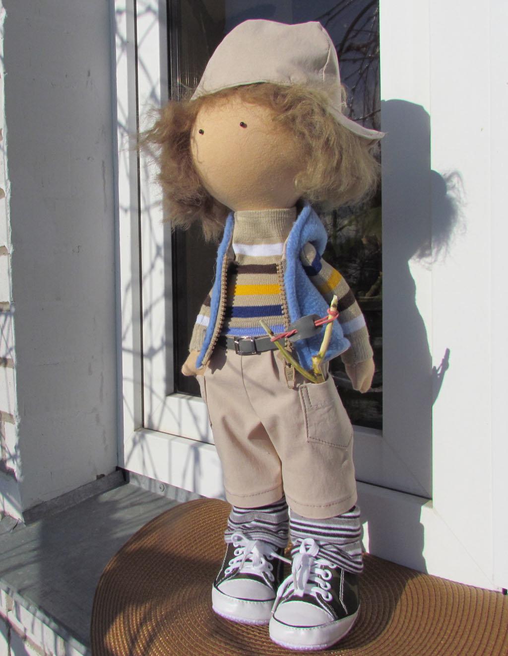 Текстильная кукла от макушки до пяточек Ярмарка Мастеров 78