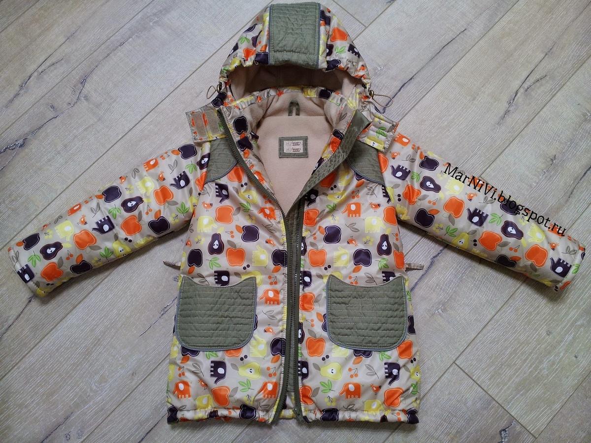 Выкройка детской куртки легко и качественно. Своими руками 45